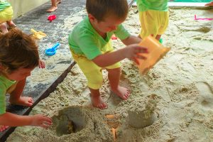 Outdoor sand play